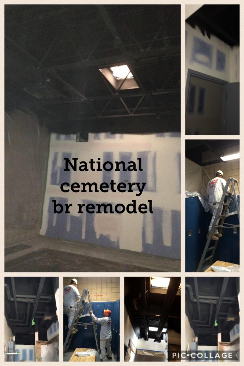National Cemetery Remodel